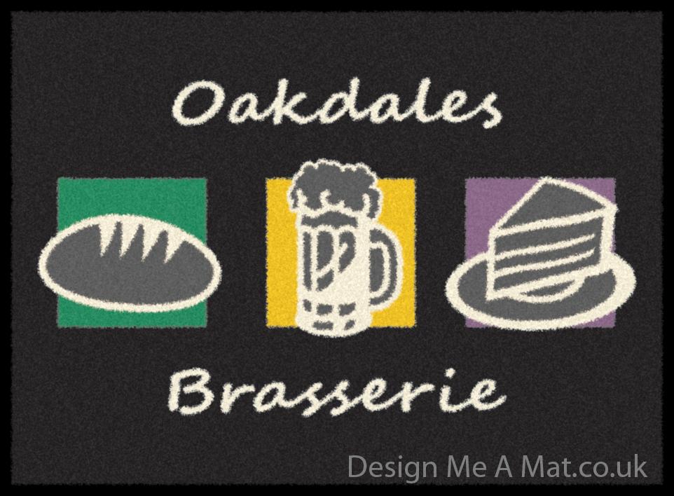 oakdales_brasserie logo mat