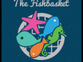 The Fishbasket restaurant logo mat.