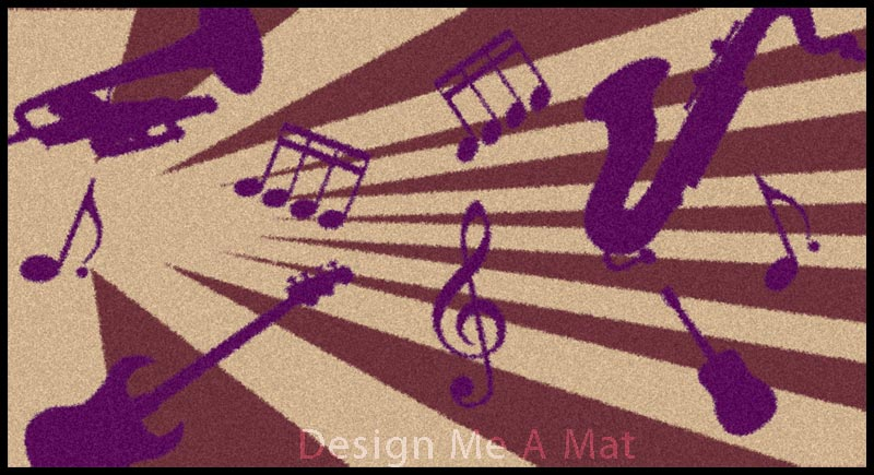 music-mat-design