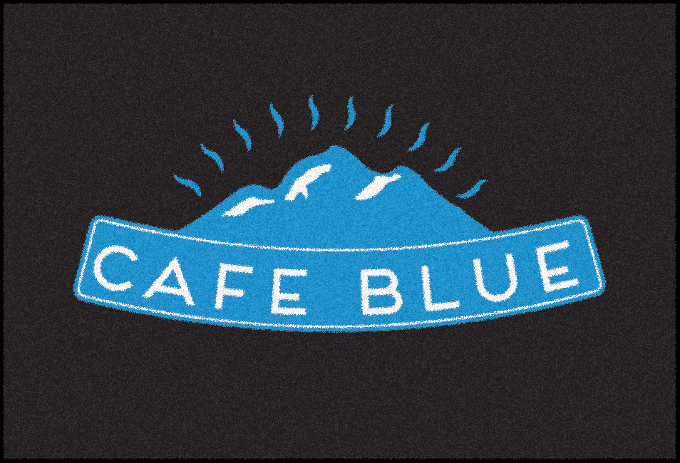 cafe-blue-logo-mat