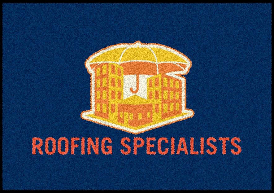 roofing logo mat