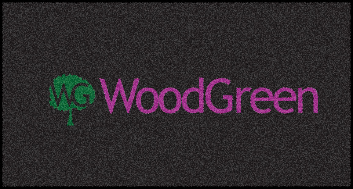 woodgreen logo mat