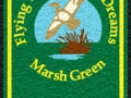 07 marsh green welcome mat