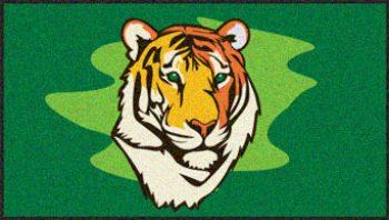 Tiger logo mat