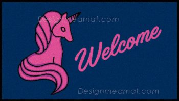 unicorn door mat